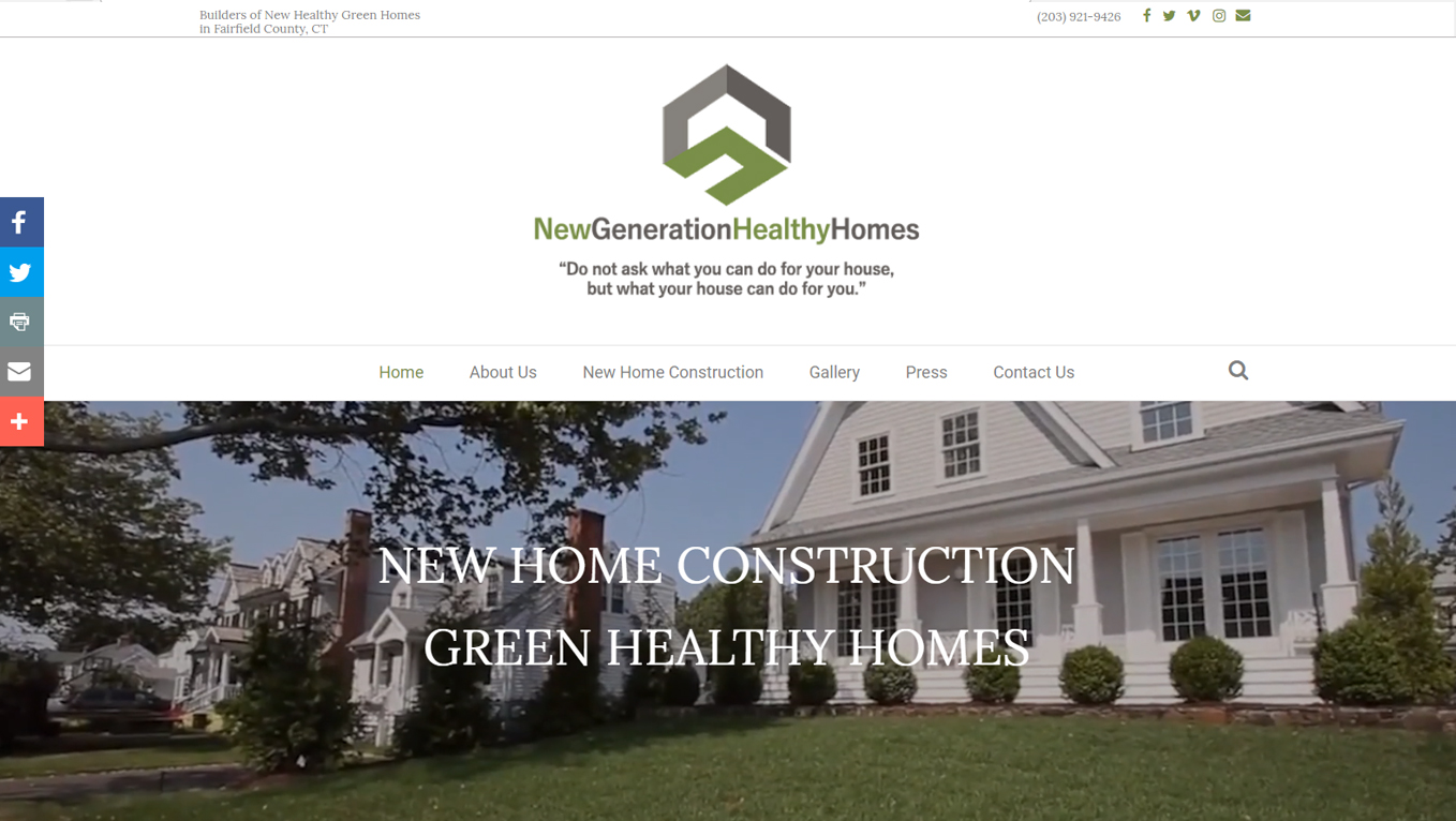 New Generation Healthy Homes
